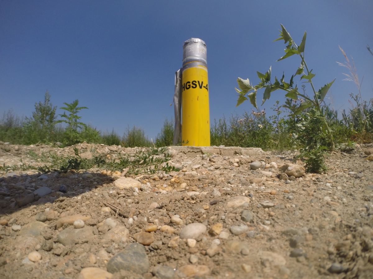 Bratislava-Dumpsite-borehole-for-taking-the-samples